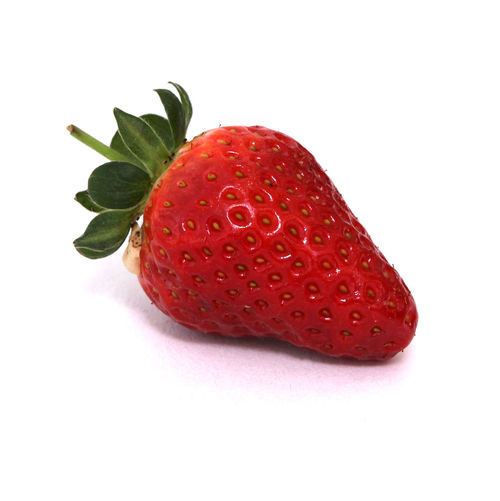 Food And Drink Healthy Eating Food Studio Shot Wellbeing Fruit White Background Freshness Close-up Indoors  No People Berry Fruit Strawberry Red Leaf Plant Part Still Life Cut Out Single Object Ripe Temptation