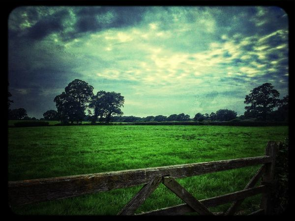 Landscape Rural Scenes Sky Clouds