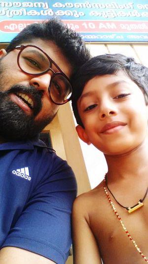 My boy Niece Chenda Arangettam