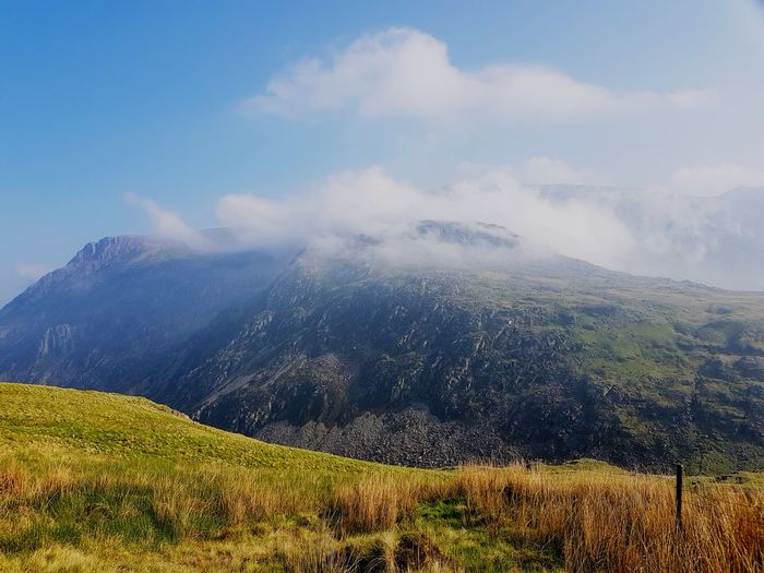Snowdonia Beauty Sky Landscape Cloud - Sky Mountain Range Valley The Great Outdoors - 2018 EyeEm Awards