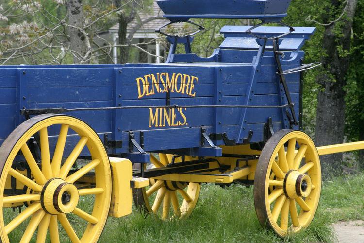 Blue Wagon Gold Mine Wagon Jamestown California Dreamin
