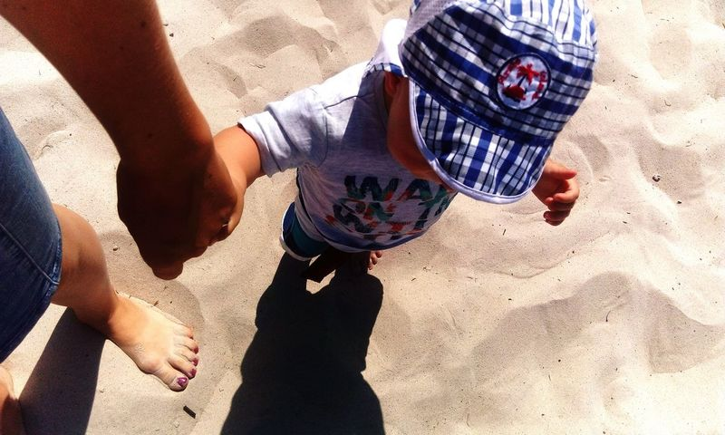 Babyboy Child Sun Sea Beach First Time At The Beach Love June Mummysboy