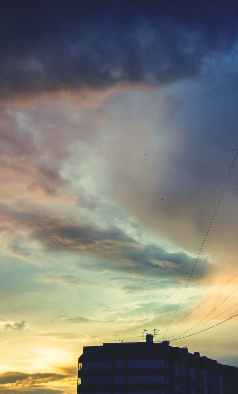 sunset, sky, cloud - sky, silhouette, no people, architecture, nature, outdoors, building exterior