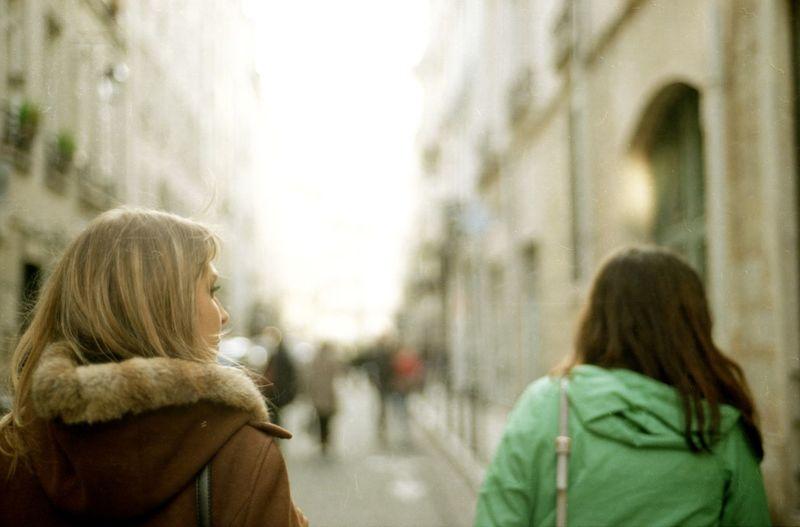 Back Blond Bokeh Le Mare Light No Face Paris Portrait