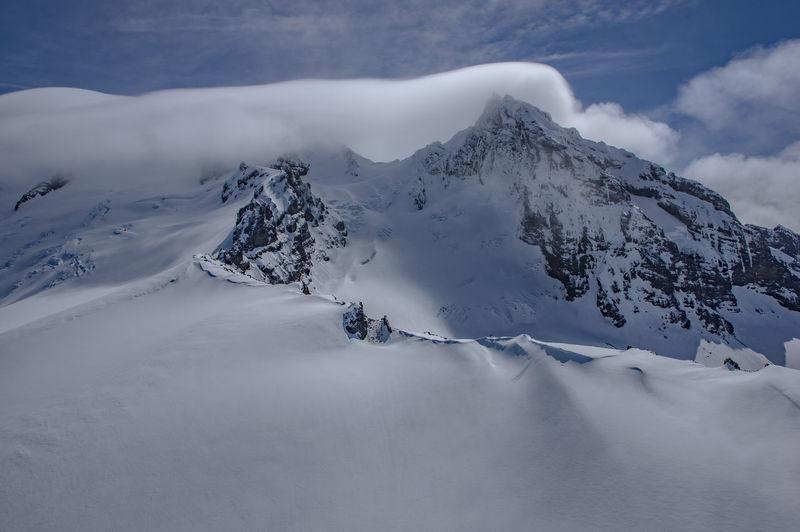 Washington Mt. Baker Mountains Landscapes Clouds And Sky Cloudporn Color Palette