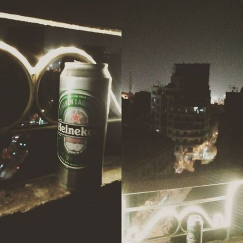 What a scene, Heineken beer and roof top view of Cairo Eveningtime Beers Beertime Cairostories Chillings Drinks Heieken Traveldiaries Travelstagram TravelStories Egypt Egyptdairies Egyptdailylife Everydayegypt Storiesofegypt Aiesec Aiesecers Mobilephotography JD JDphotography