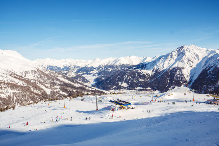 Südtirol Adventure Alps Beauty In Nature Blue Cold Temperature Day Landscape Mountain Mountain Range Nature No People Outdoors Scenics Ski Holiday Ski Lift Sky Snow Snowcapped Mountain Sport Sunlight Tranquil Scene Tranquility Tree Winter