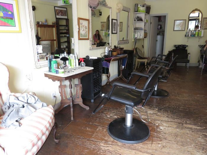The shop around the corner Neighborhood Beauty Parlor Workplace Fashion Hair Beauty Warm And Friendly beautiful things happen here Danbury CT