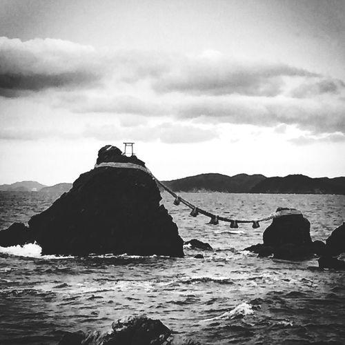 伊勢の夫婦岩です。 @2005Ohayou First Eyeem Photo 伊勢 夫婦岩 43 Golden Moments Showcase July 日本観光
