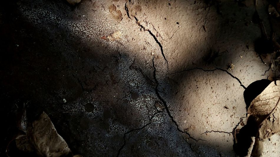 Textured  Close-up No People Backgrounds Nature Outdoors Day Wet Wet Mud Soil And Sun Soil On The Ground Wet Soil Sunlight And Shadow Wet Ground HUAWEI Photo Award: After Dark