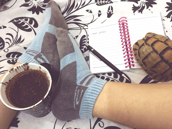 TK Maxx Socksie Drink Coffe Speaking Juses Tortoise Love Socks