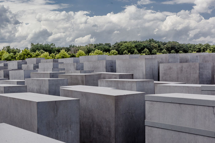 Berlin holocaust memorial Beauty In Nature Berlin City Cityscape Cityscapes Cloud Cloud - Sky Cloudy Day Green Color Growth Holocaust Holocaust Memorial Memorial Nature No People Outdoors Plant Remember Remembering Sky Tranquility Travel Destinations Traveling View