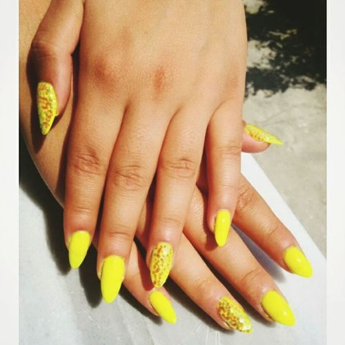 Mynaturalnails Yellowcolor Justnailpolish 💅😍☺