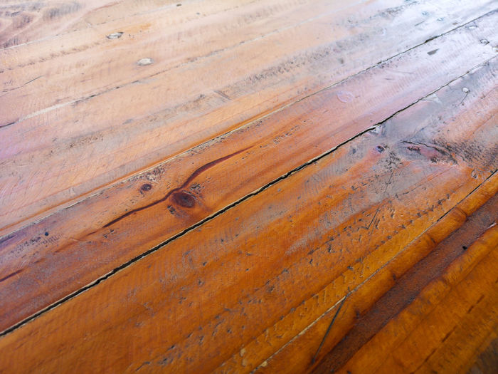 Wood - Material Pattern Full Frame Backgrounds Textured  No People Brown Close-up Wood Plank Day High Angle View Flooring Wood Grain Outdoors Rough Nature Detail Weathered