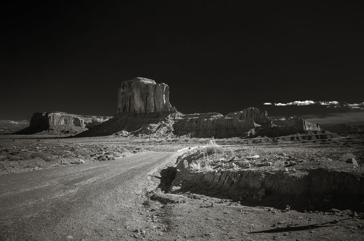 Monument Valley Tribal Park Outdoors Nature Photographer Travel Destinations Travelphotography Travel Landscape Arizona Black And White Collection  Beauty In Nature Howdidthatgetthere