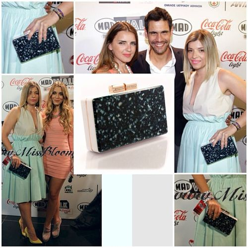 Urania Gazelli shell clutch SS13 for @regrinia at @madwalk fashion music project ! Thank you @regrinia!! you look FAB!!!! ???❤? Photos from @missbloom Uraniagazelli Clutch Ss13 Project shell plexi handmade madeingreece madwalk fashion design project missbloom ranol fab collection