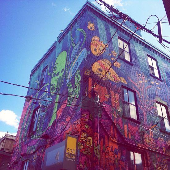 Street Art Toronto Queen West