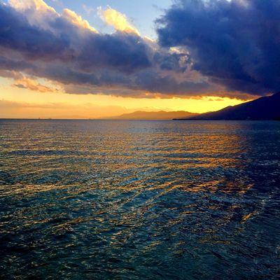 Cloud Japan Lake Biwa Beach Clouds Lake Lake View Mountain Sky Sunset