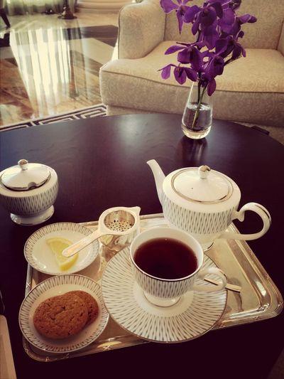 Civilised afternoon tea