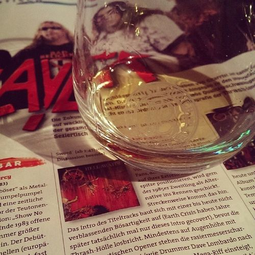 Friday Evening Laddie Classic and slayer ;)