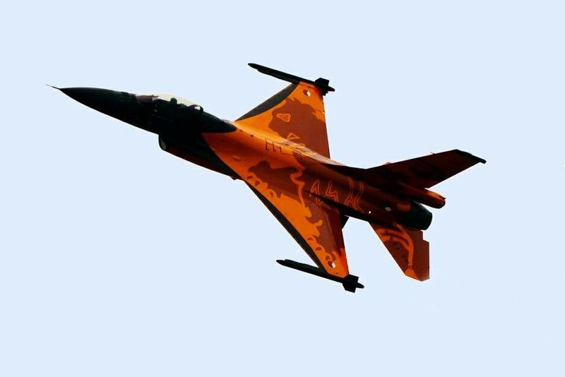 Klu demoteam Nederlandse Luchtmacht Demonstratie F16 Aircraft F16fightingfalcon F16 Nederlandse Leeuw