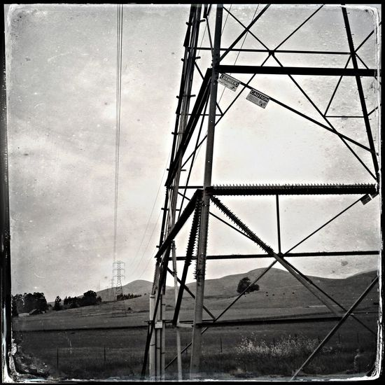 Blackandwhite Power Lines You've Got Me Wired Thirst For Power
