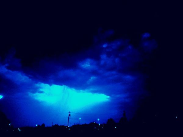 True sky Sky Cloud - Sky Night Lightning Dramatic Sky