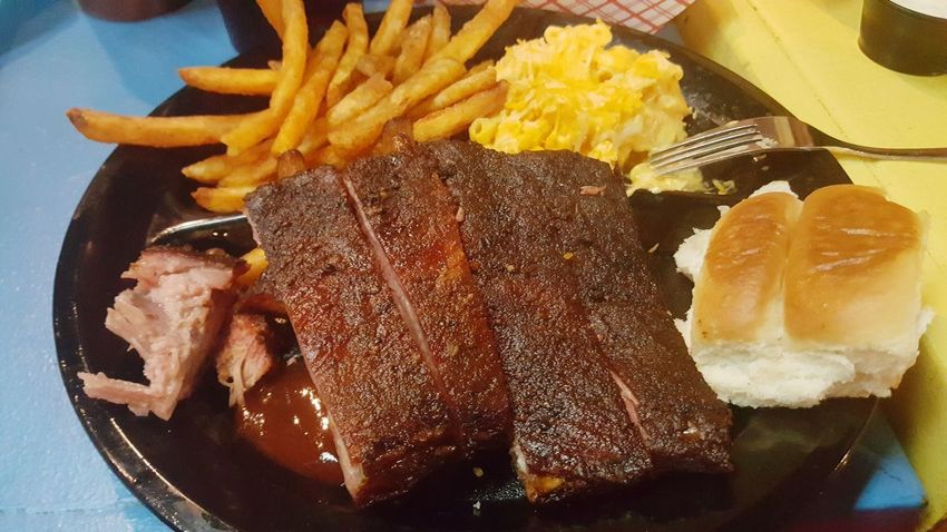 EyeEm Selects Food Food And Drink Prepared Potato Ready-to-eat Freshness No People Close-up Indoors  BBQ Full Length Mac N Cheese Ribs Burnt Ends  Fries! Dinner Roll Season Fries Slap Ya Momma's Smokehouse & Bbq