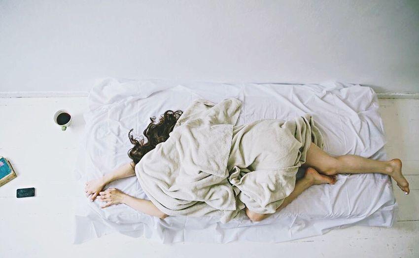 Mondaymorning Dontwannawakeup Bed Sleep Hatemornings Woman Pastel Power Interior Views A Bird's Eye View