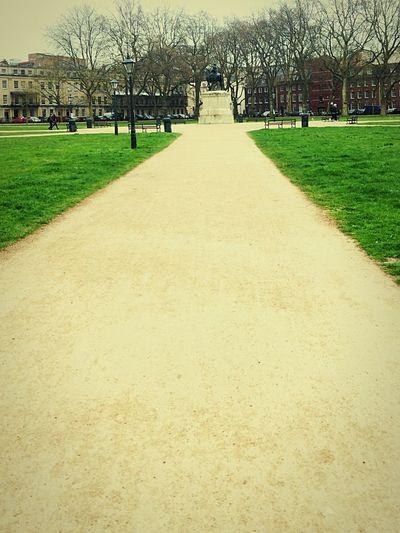 Walking Around Square Unitedkingdom Way Future Infront Ofyourself Bristol Bristol England
