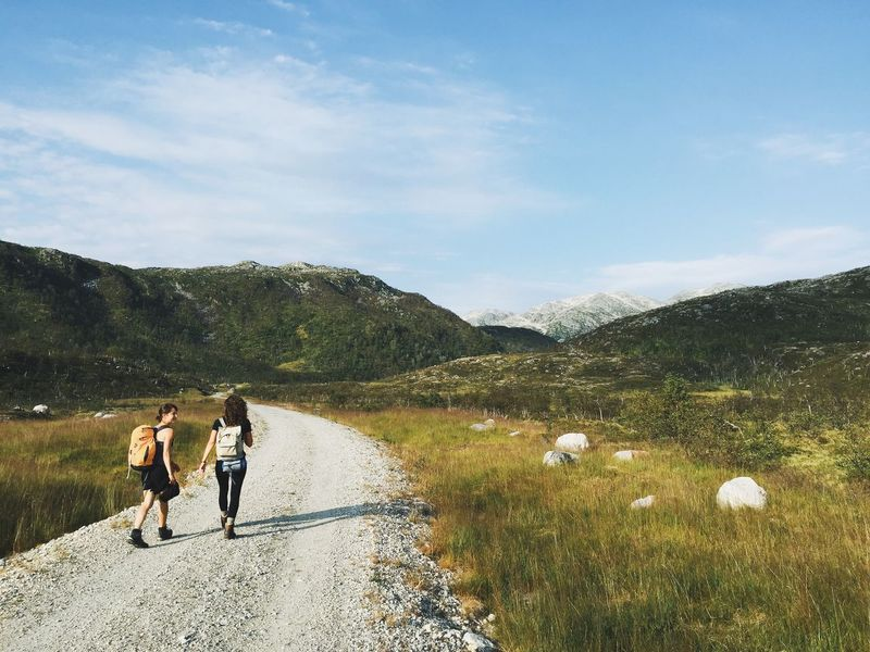 Adventure Hiking Landscape Mobile Photography Mountains Nature Norway Travel