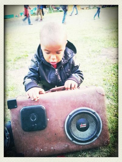 Krachkoffer Boombox Soundsystem