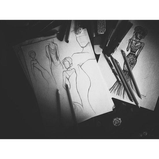 Fashion Fortheloveofblackandwhite My Drawing Art