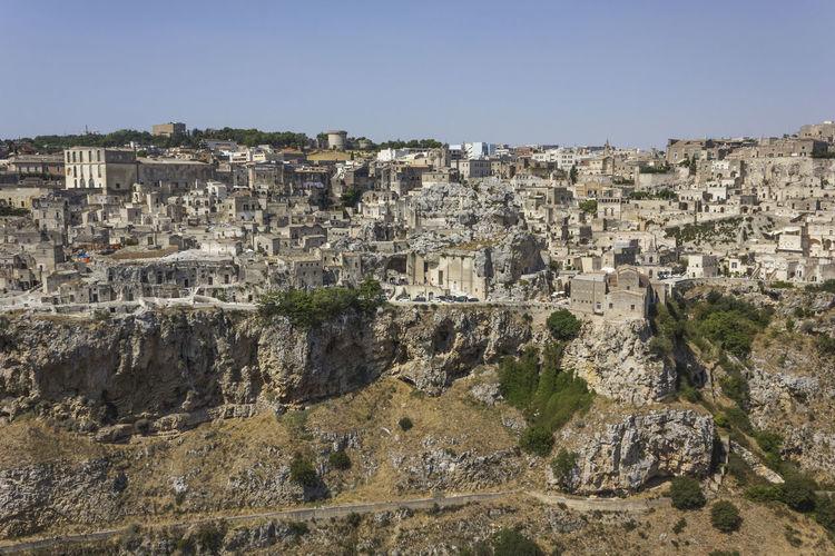 Matera Italy Unesco UNESCO World Heritage Site Landscape Murgia