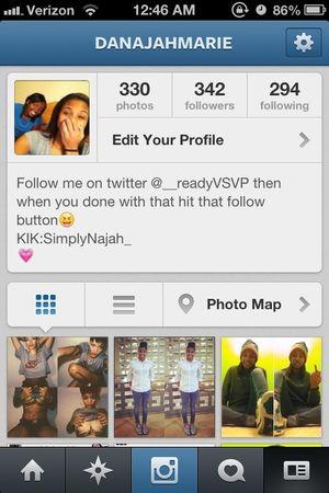 So somebody should definitely go follow me on Instagram