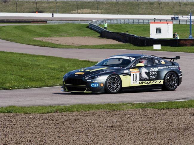 Track side Bright Light Day Time Photography Rockingham Speedway Sunnyday☀️ Black Corners Racing Car Yellow