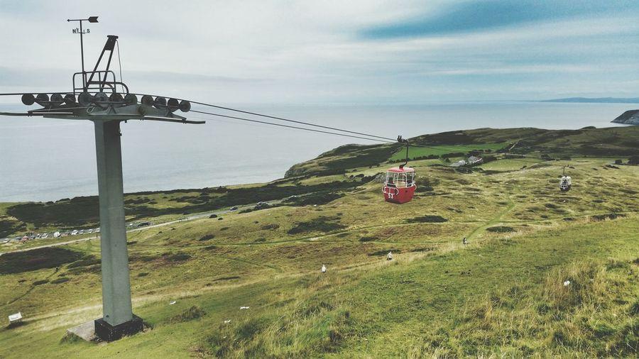 Wales North Wales Llandudno Great Orme Cable Car