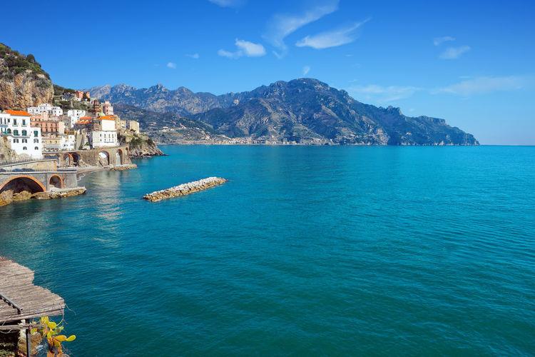 La costiera Sea Sky Scenics - Nature Travel Bay Amalfi Coast Atrani Costiera Amalfitana Amalfi  Maiori