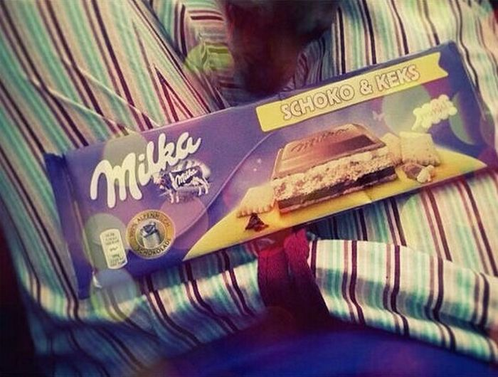 Check This Out Enjoying Life That's Me Going To Sleep Going To Sleep Early Going To Sleep ♡ Milka..❤ Milka Milka💕 Milkaholic