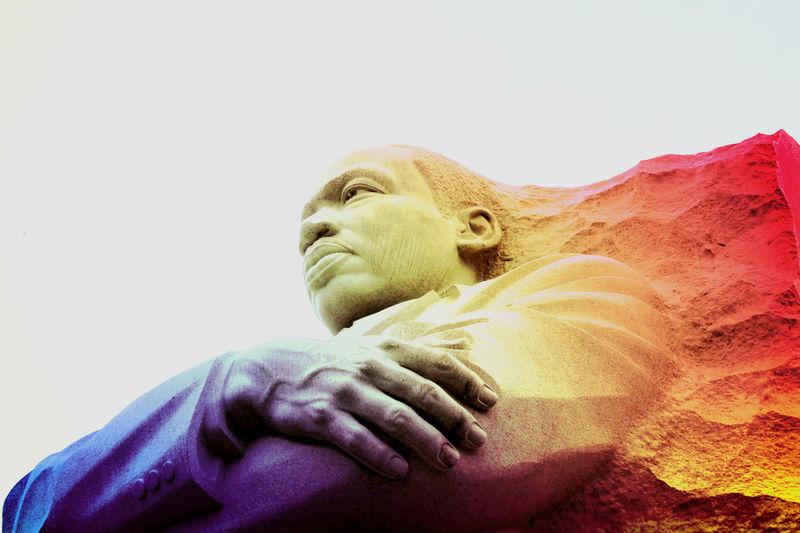 MLK Day MLK Memorial MartinLutherKingJr Close-up Human Representation Outdoors Sculpture Statue