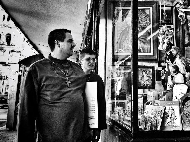 Buying some stuff NEM Black&white Shootermag Streetphoto_bw NEM Street