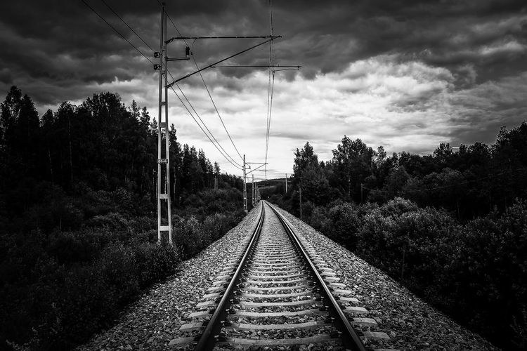 No where to go. Open Edit EyeEm Gallery Railway Railroad World Photography Blackandwhite Eyem Best Shots Europe Monochrome