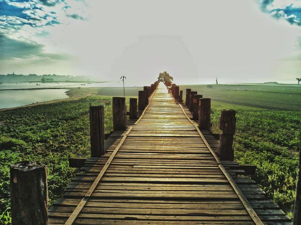 Found On The Roll Long Way To Go... Amarapura, Myanmar PhonePhotography The Great Outdoors - 2016 EyeEm Awards Feel The Journey