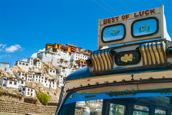 Best of Luck Thikse gompa or thikse monastery Historical Building India Leh Leh Ladakh.. Luck Mountain Thiksey Travel Travel Destinations