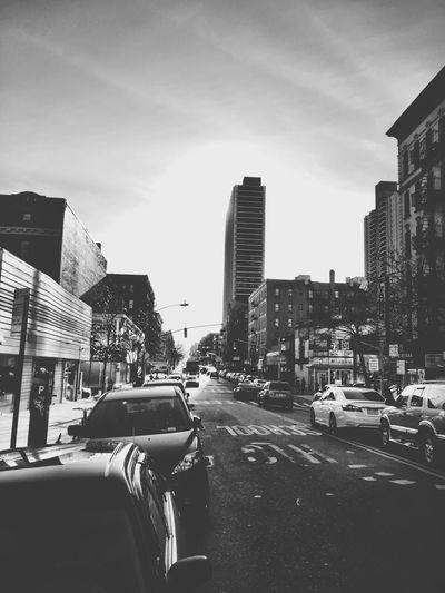 Washington Heights. Soaking Up The Sun Walking Around City Street City Life Residential Building Urban Blackandwhite Newyorkcity Manhattan 181saintnichola