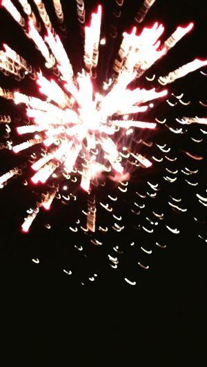 No People Fireworksnight