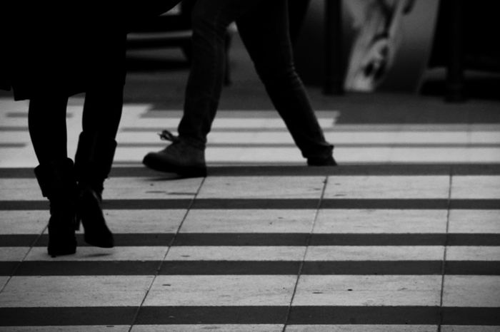 Low Section Human Leg Human Body Part Real People Walking City Day Outdoors People Tranquility Canonphotography Canon_official Canoneos1100D Canon1100d Canon_camera Passionforphotography Canon_shoot Canon_offical Transportation Exploring Canoneos Canon_bw Amateurphotography Modern City Street