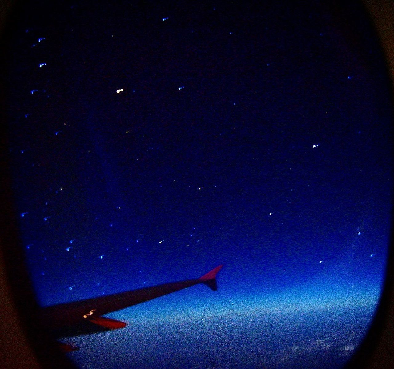star - space, night, astronomy, sky, galaxy, no people, constellation, airplane, space, outdoors, starry, nature, beauty in nature, airplane wing