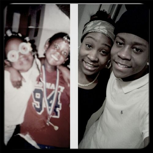 meee & my brother (: