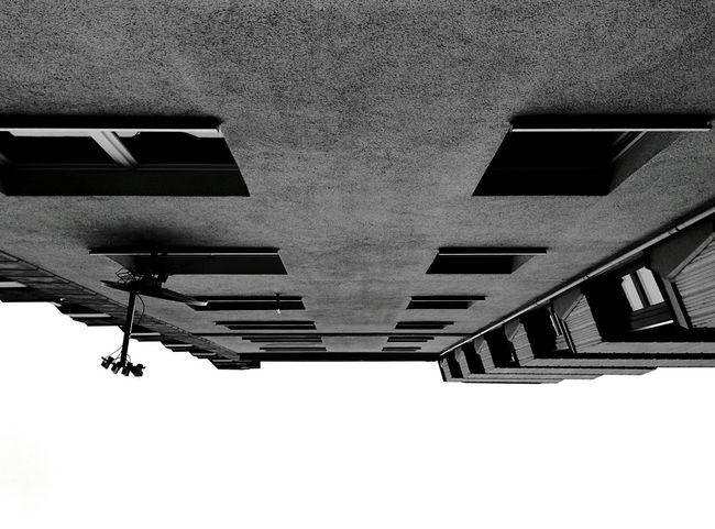 Day 330 - Vue d'en bas Berlin Blackandwhite Building 365florianmski 365project Day330